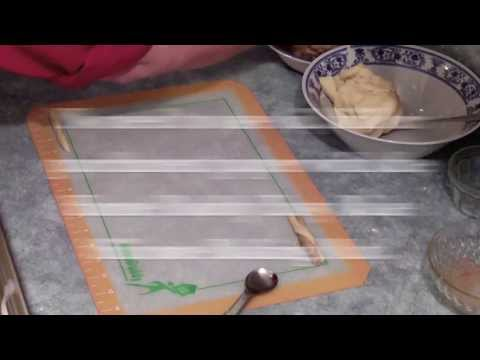 Cookie Recipe how to bake Cinnamon Twist Cookies the easy way using a silicone baking mat