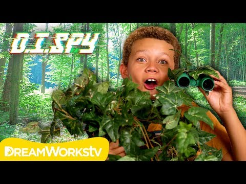 How to Spy in Camouflage! (DIY Camo Binoculars) | D.I.SPY