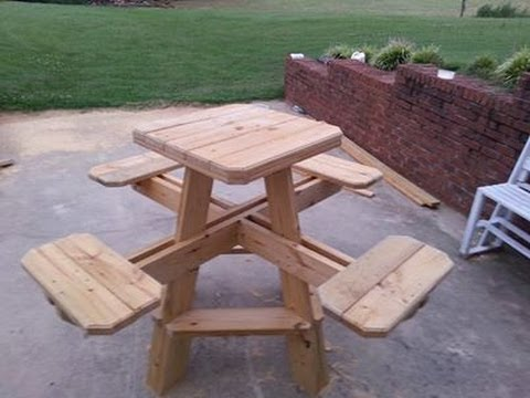 Bar stool picnic table build chapter 1.