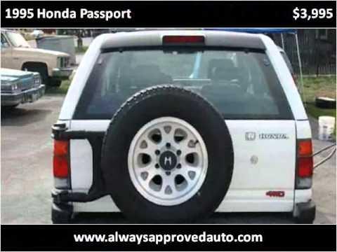 1995 Honda Passport Used Cars Spokane Valley WA