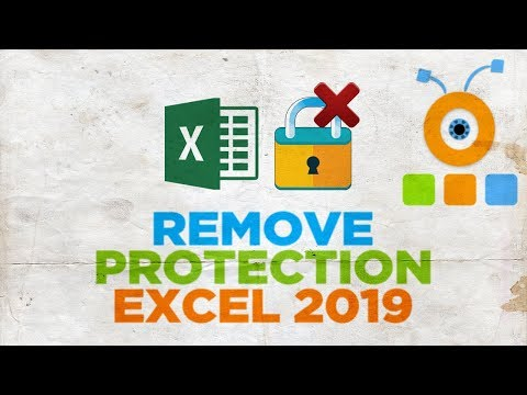 How to Remove Protection from a Sheet in Excel 2019