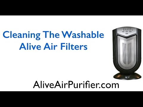 Washable Air Purifier Filters - Alive Air