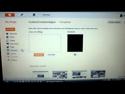 Tutorial- Adding TABS on your BLOG easy!