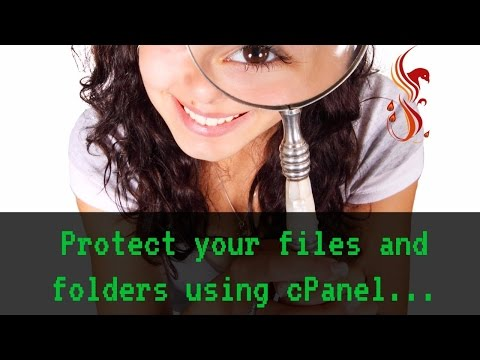 How to protect your files and folders using cpanel