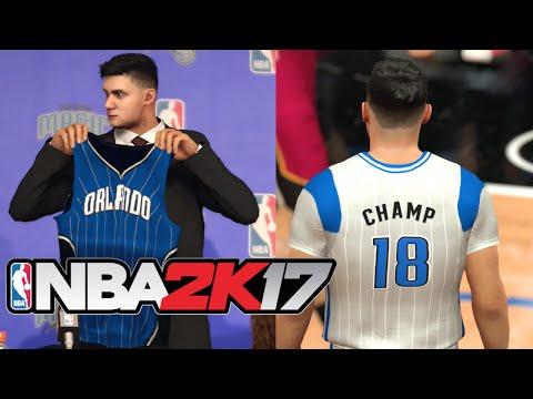 NBA 2K17 My Career - DRAFT DAY & FIRST NBA GAME! (NBA 2K17 MyCareer #1)