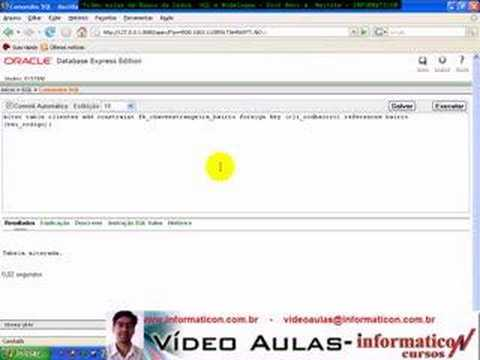 Aula 1349 banco_dados SQL- Oracle 10g Foreign key
