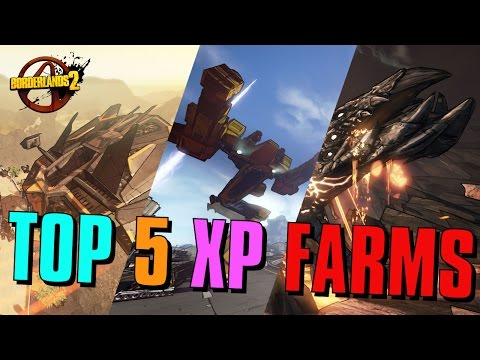 Borderlands 2 - Top 5 Ways to Level Fast