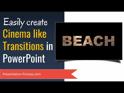 Create PowerPoint Transitions Cinema Style (With Videos)