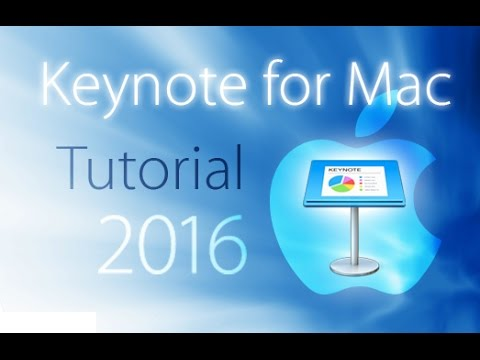 Keynote 2016 - Tutorial for Beginners [+General Overview]*