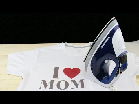 How to Print Any Text on a T-shirt in 5 Mins - Using Electric Iron