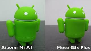 Xiaomi Mi A1 vs Moto G5s Plus Camera Comparison