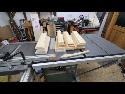 Workbench - Building drawers Part 1