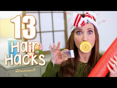 13 Hair Hacks Every Girl Should Know | Cute Girls Hairstyles