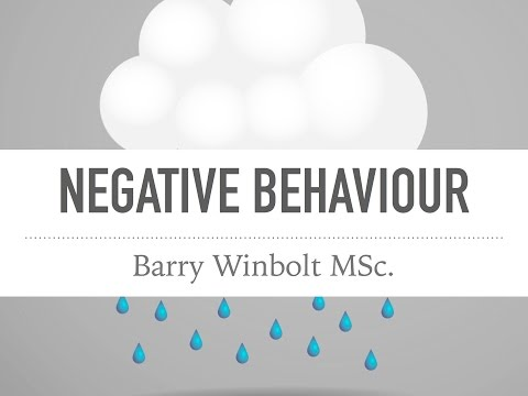Barry Winbolt discusses negativity and how to approach it in the workplace