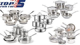 Top 5 Best Stainless Steel Cookware Sets 2019- 2020