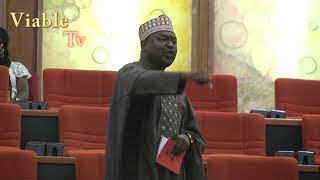 Full Video : Chaos Again, As Pdp Senators Divided Over The Confirmation Of Efcc Secretary