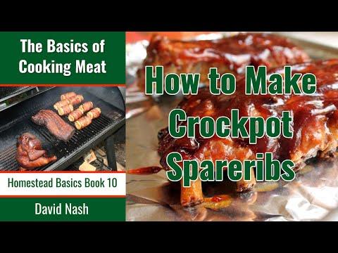 Crock Pot Spareribs