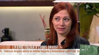 A lúggal leöntött nő még minidig nem tudta feldolgozni a történteket - tv2.hu/mokka