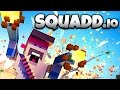 SQUADD.io - Flamethrower Rampage! - Let's Play Squadd.io Gameplay
