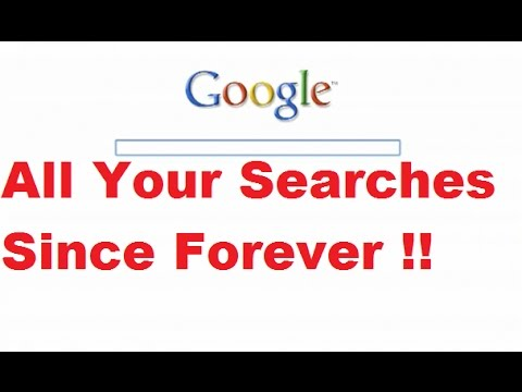 Clear and Delete Your Google Search History Since Forever!