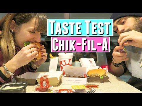 Chik-Fil-a TASTE TEST WITH BOYFRIEND & NEW belly button ring, new navel ring