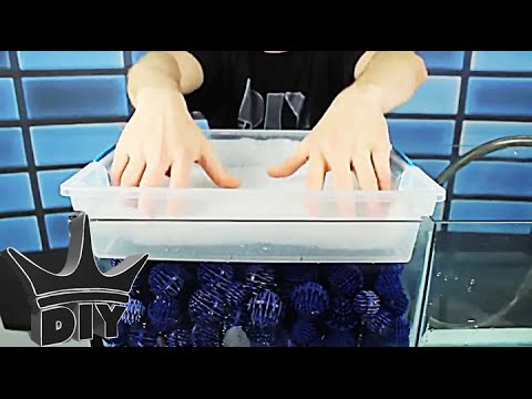 HOW TO: Build an aquarium sump - emerged trickle filter