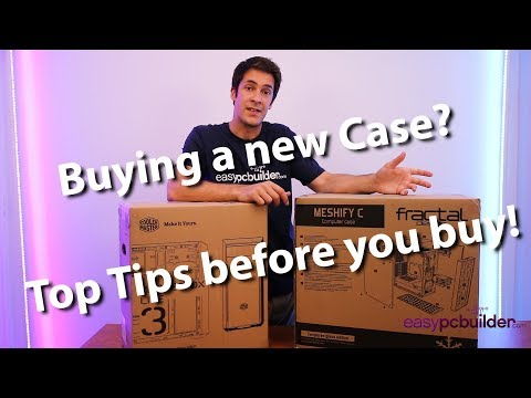 The Computer Case Explained! - 2018 PC Build Series - EasyPCBuilder - Gaming PC