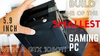Construa Um Dos Menores MINI PC GAMER Do MUNDO GTX 1050 TI Intel G4600 T MB STX menor Que ITX