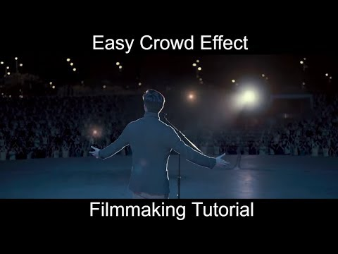 How to sell out a concert | Crowd Simulation VFX Tutorial