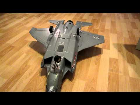 Funny, Learning the hard way, EDF Jet F35 Lightning, 1st RC Plane, big mistake, Crash,