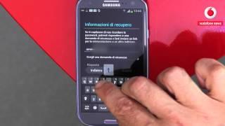 Come faccio a configurare un account di posta elettronica con un Samsung Galaxy S III