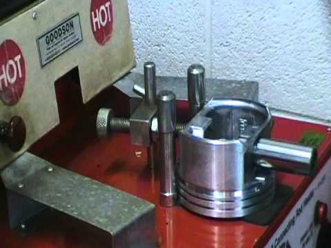 How to use a Goodson 220 volt connecting rod machine