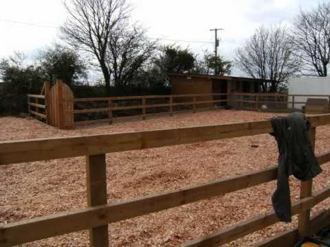Design Ideas to build your own horse paddock, Cork, Ireland. Outdoor spaces