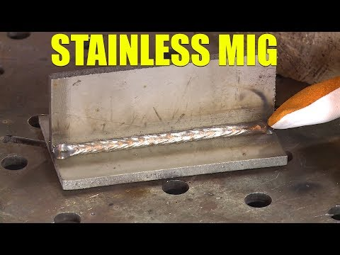 🔥 MIG Welding Stainless Steel
