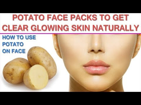 🔹🔹How To Get Glowing Face With Potato Face Pack🔹🔹
