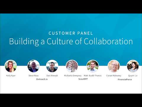 Sales & Marketing: The New Power Couple - Building a Culture of Collaboration Customer Panel