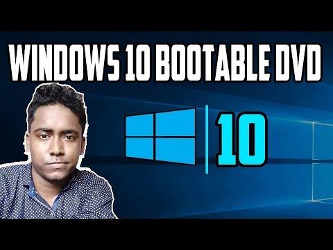 How to Make Windows 10 Bootable DVD