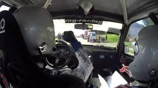 Rallye de Vervins 2017 - ES6 Thenailles - Pierre-Alexandre et Margaux PERRIN - Saxo F2013