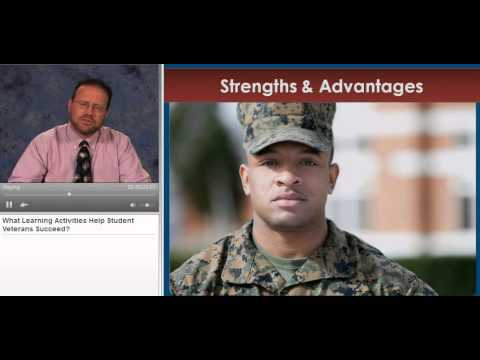 What Learning Activities Help Student Veterans Succeed?