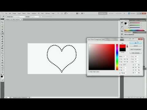 How to make dots frame photoshop tutorial (8)