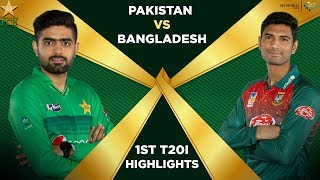 Pakistan Vs Bangladesh 2020 Full Highlights 1st T20I PCB