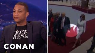 Don Lemon On Melania Trump's Hand Swat  - CONAN on TBS