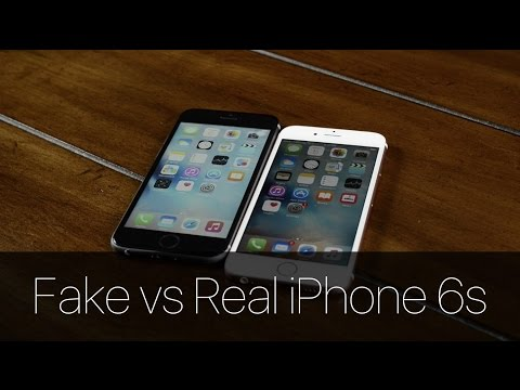 Fake vs Real iPhone 6s!