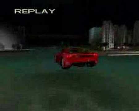 GTA Vice City car-boat