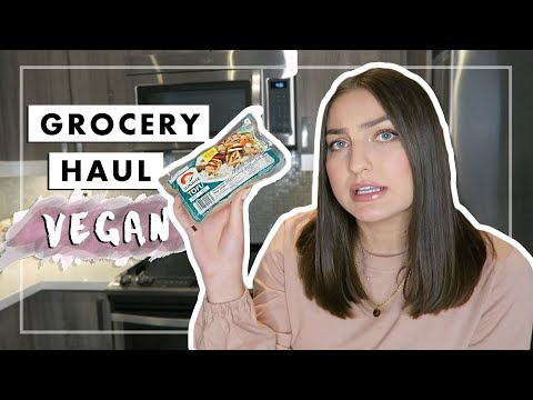 WHAT I EAT 2018: Vegan Grocery Haul 🌱 JacIRL #3