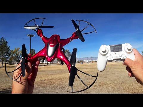SJRC X300-2C Camera Drone Flight Test Review