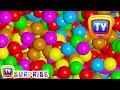 Magical Surprise Eggs Ball Pit Show For Kids Learn Colours Shapes ChuChu TV Surprise Fun
