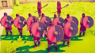 TABS - 2 Jarl and 10 Brawler vs Tribal,Farmer (Same price)! - Totally Accurate Battle Simulator