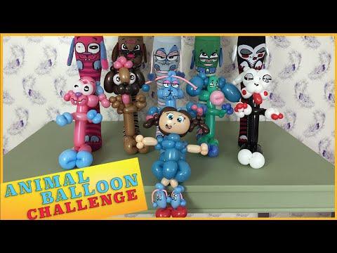 BALLOON ANIMAL CHALLENGE   #MooshWalks