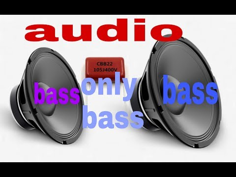 make audio bass only louder bass on subwoofer (100% working )
